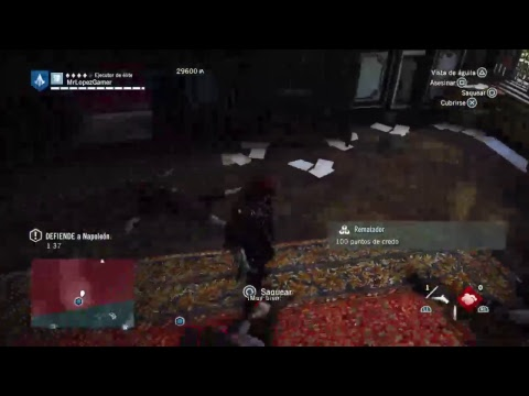 Ps4: AC Unity  -  1secuencia 8