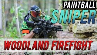 PAINTBALL SNIPER IN THE WOODS - D-Day Part 1