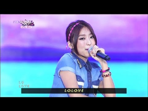 SISTAR - Loving U (2013.05.25) [Music Bank w/ Eng Lyrics]