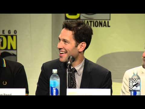 Official- Marvel's Ant-Man Cast and Crew at the Marvel Studios Panel from Comic-Con 2014