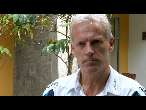 Peter Moores on England's win in Hambantota and Alastair Cook's suspension