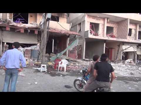 SNN | Syria | Latakia | Regime Airstrikes Kill Civilians, Destroy Buildings | Aug 11, 2013