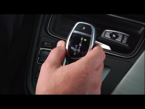 Bmw Electronic Gear Shift Operation Youtube