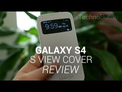 Galaxy S4 S View Cover Review!