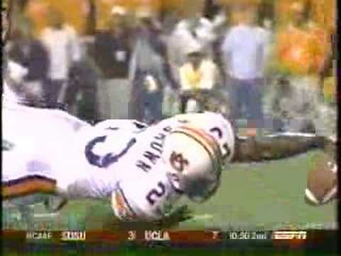 Auburn Tigers vs Tennessee Ronnie Brown TD HIT Video