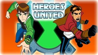 Ben 10 Game - Generator Rex Heroes United Games - Kids for and Children Game 2014