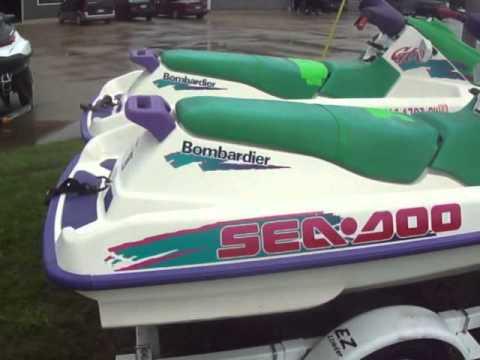 used sea doo jet skis pwc watercraft for sale lansing michigan youtube. Black Bedroom Furniture Sets. Home Design Ideas