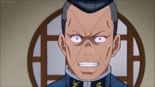 Okuyasu runs into a window so fast that he becomes Yaranaika