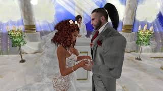 Dr Rage & Sheneatha Second Life Wedding - 11.18.17