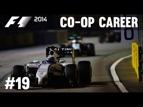 F1 2014 Co-op Career Mode FINALE Part 19 - Abu Dhabi Grand Prix