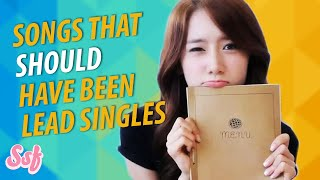 12 Songs That Should Have Been Lead Singles Video l @Soshified