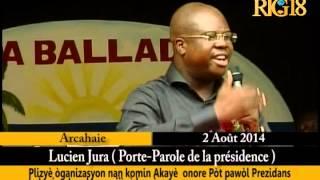 VIDEO: Arcahaie Onore Lucien Jura, Pòt Pawòl Prezidans La