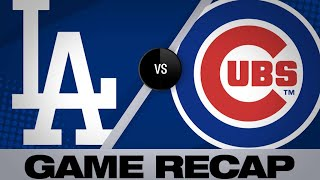4/24/19: Cubs' bats out-slug Dodgers in 7-6 win