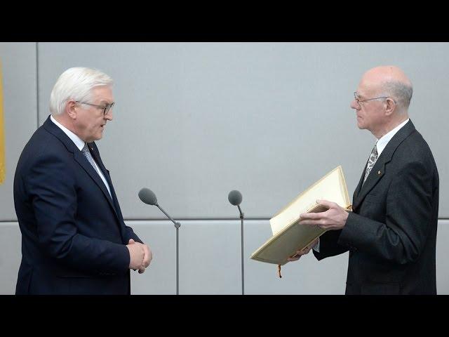 Vereidigung von Dr. Frank-Walter Steinmeier zum 12. BundesprГsidenten vom 22.03.2017