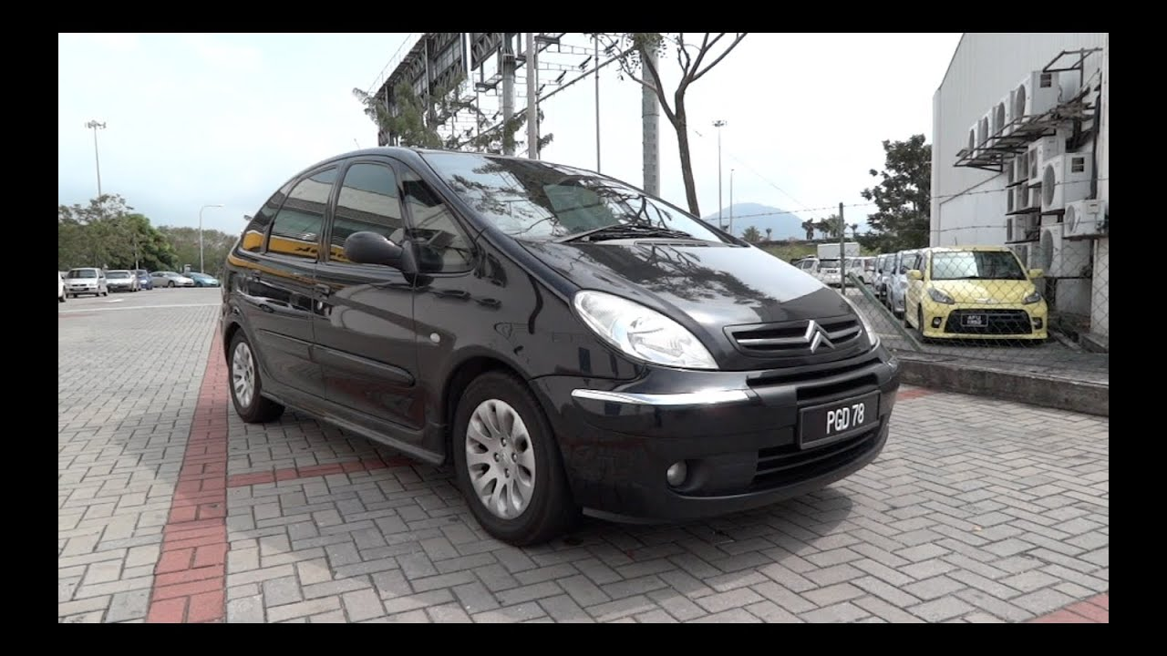 2004 citroen xsara picasso start up full vehicle tour and quick drive youtube. Black Bedroom Furniture Sets. Home Design Ideas