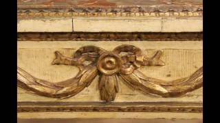 Tavolo console torinese in stile Luigi XVI dei primi del XX secolo