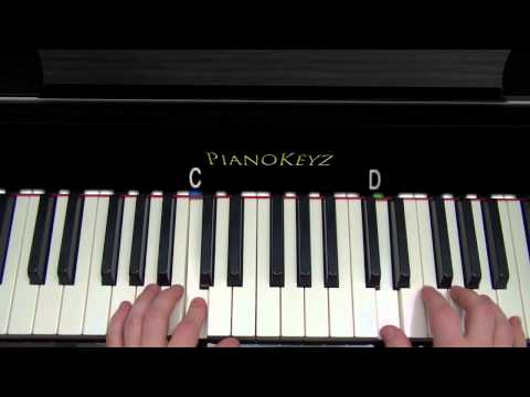 How to Play Little Things - One Direction Piano Tutorial