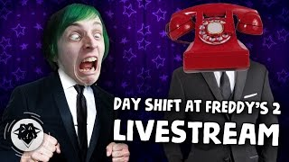 DAY SHIFT AT FREDDY'S 2 #1 | SUIT UP! | DAGames