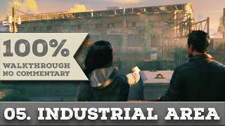 Quantum Break Walkthrough part 5 INDUSTRIAL AREA (Hard, All Collectibles)