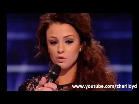 Cher Lloyd sings Love The Way You Lie by Eminem / Rihanna Semi Final X Factor 2010 HQ/HD