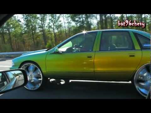96 Impala SS on 28's Cruising The Interstate - 1080p HD