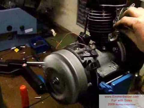 Velosolex Fun With Solex Part 2 Rebuild Motor On Test