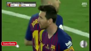 Barcelona vs Valencia 1-2 Football Highlight Scored Copa Del Rey 2019
