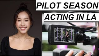 PILOT SEASON 2019 | Actor in LA Hollywood, Auditions | Jenny Zhou 周杰妮