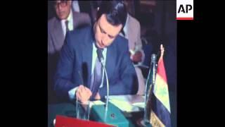 GS 7 4 82 PLO MEET WITH ARAB LEAGUE IN TUNISIA