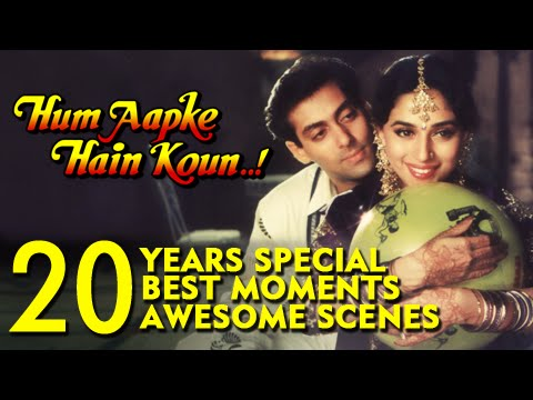 20 Best Moments From Hum Aapke Hain Koun | #20YearsOfHAHK
