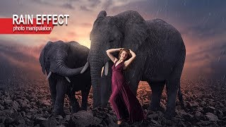 Photoshop Tutorial - Photo Manipulation - Rain Effect