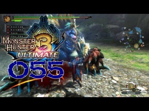 Let's Play Monster Hunter 3 Ultimate #055 [Wii U-HD] [Online] - Zinogre. die Donnerbestie!