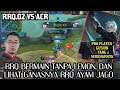 RRQ.O2 VS ACR - RRQ AYAM JAGO GANAS TANPA LEMON - MOBILE LEGENDS INDONESIA