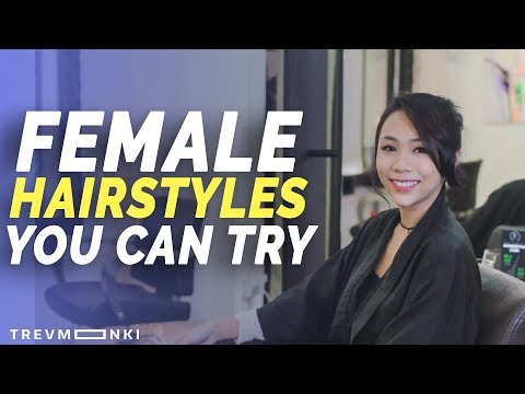 4 HAIRSTYLES FOR SINGAPOREAN GIRLS! - You Sure Anot?!: EP 16 | Singapore