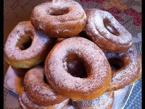 Домашние Пончики на Кислом Молоке / Donuts Recipe / Очень Простой Рецепт Пончиков