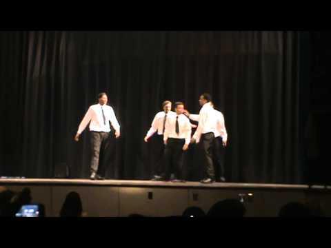 Sanderson High School Alpha Omega 007 Boys Step Show 2014