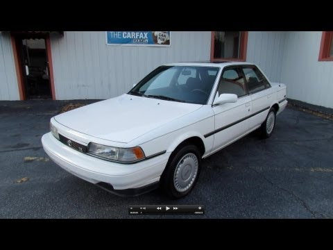 1990 Toyota Camry LE V6 Start Up, Exhaust, In Depth Tour, and Test Drive