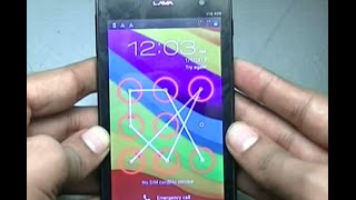 How to unlock password in Lava Iris 405 mobile