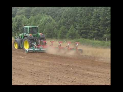 John Deere 7430 + Kverneland Video