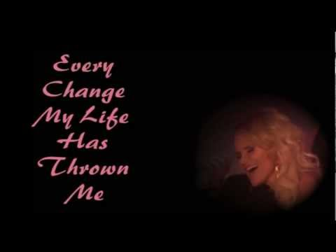 Lessons Learned ~ Kristin Chenoweth ~ Lyrics video