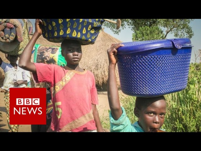 South Sudan Civil War: Refugees flee the atrocities - BBC News