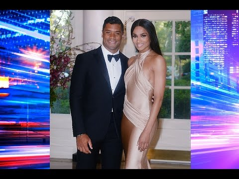 It's On! Ciara and Russell Wilson Have A White House Date Night!
