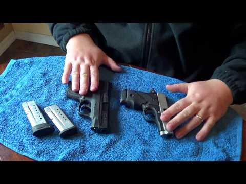 S&W M&P Shield 9mm vs Sig P238: Size & Feature Comparison