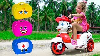 Milusik Play with magical toys Fun children's story