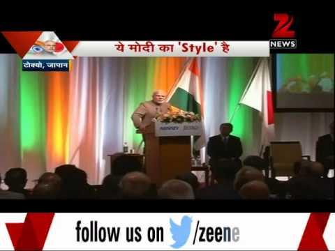 Narendra Modi's dressing style a hit in Japan