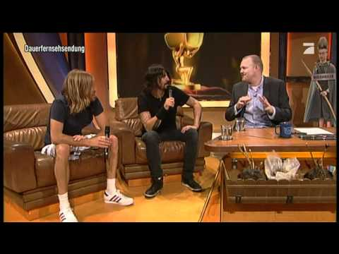 Foo Fighters - Interview TV total 14.06.2011