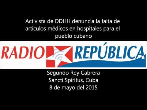 Activista de DDHH denuncia el mal funcionamiento del sistema de salud en Cuba