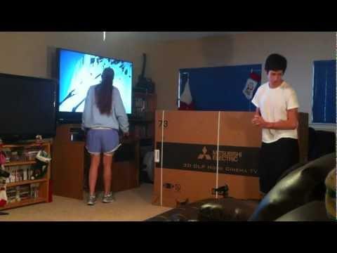 Mom cries over broken television prank!