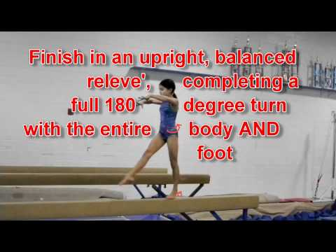 USAG Level 5 Balance Beam Tutorial 2005-2013