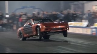 ROWDY 1000HP 13B RX7 Cracks 7's - Bacon RX7